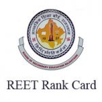 reet rank card